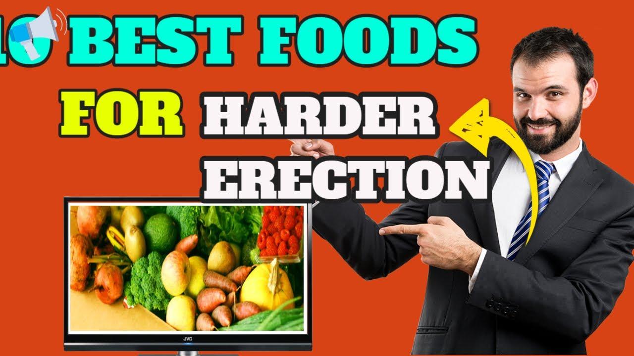 milyen ételek serkentik az erekciót