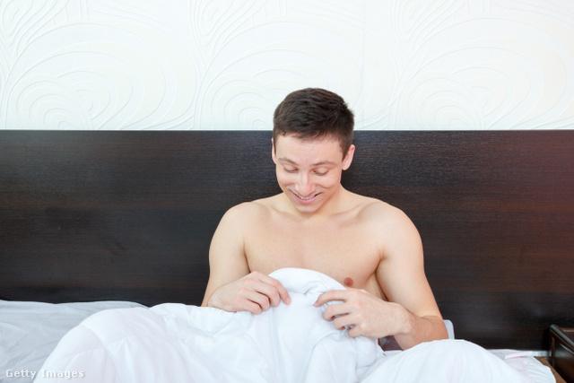 egy férfi reggeli merevedése az