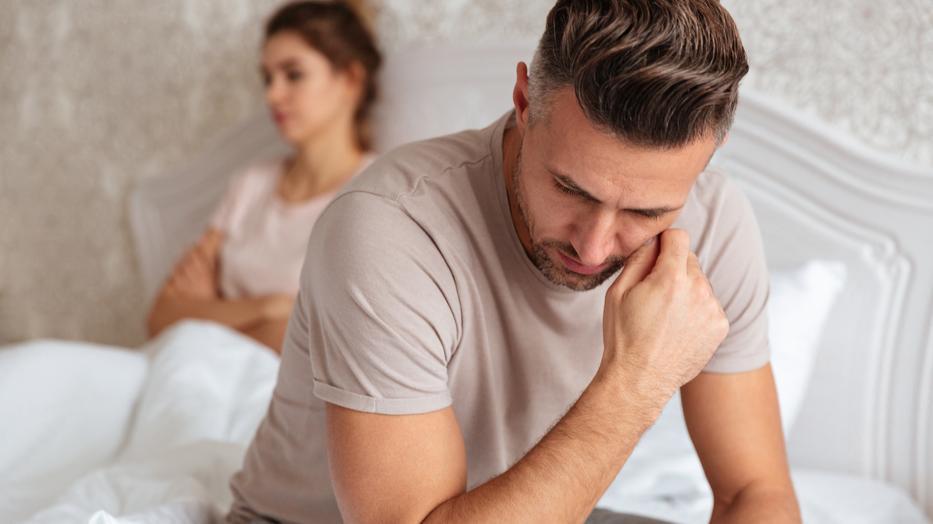 az erekciós fáradtság hiánya