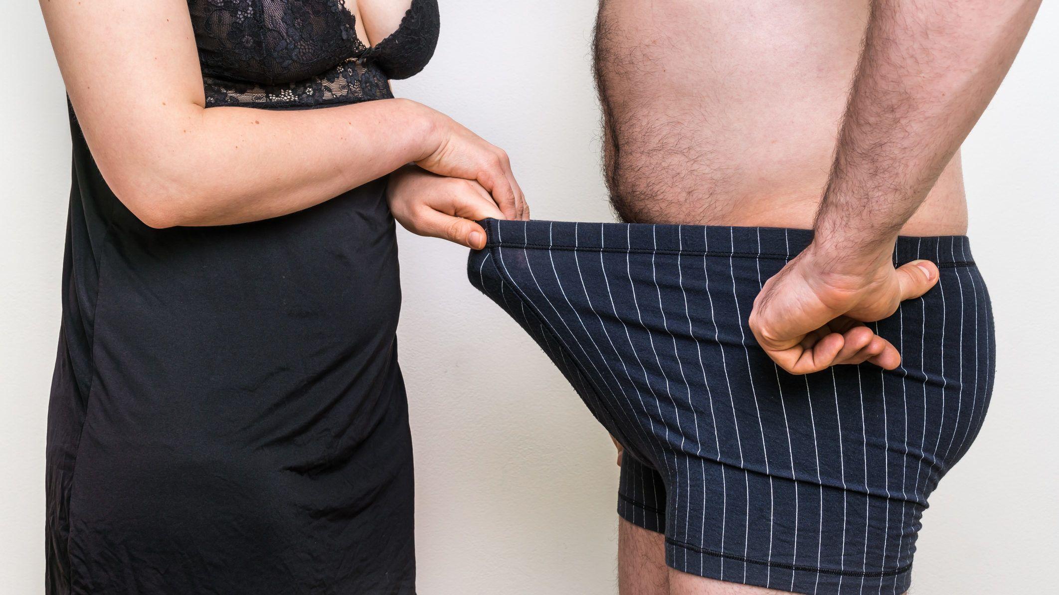 nő és a pénisz mérete
