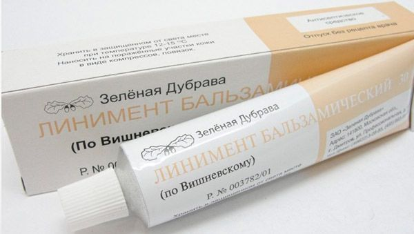 Vishnevsky kenőcs a péniszhez)