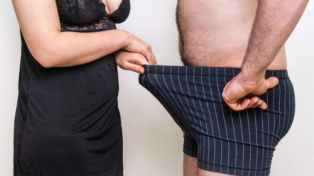merevedés és a pénisz mérete