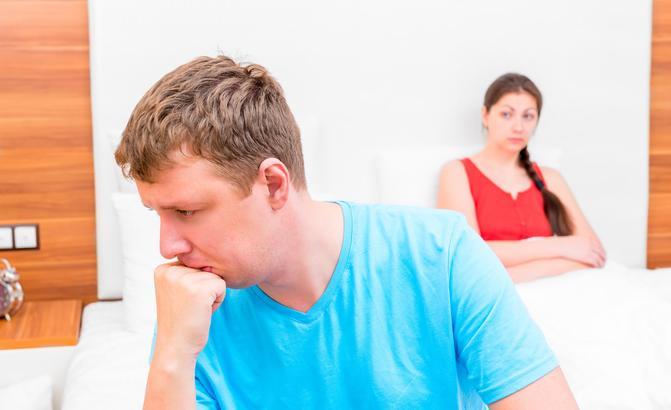 a férfiak miért nem szenvednek merevedést