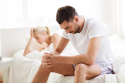 merevedési probléma a prosztatagyulladás kezelése miatt