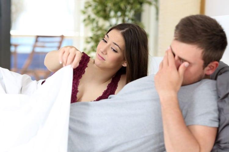 mit kell tenni a rossz erekció