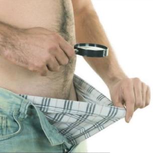 rejtett pénisz erekcióban