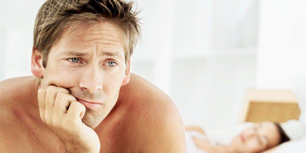a férfiak korai erekciója