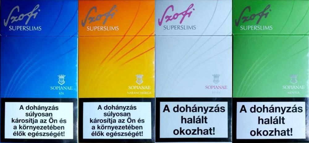 A Sopianae cigaretta története   Dohány Múzeum