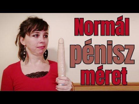 péniszméret normál vastagságú